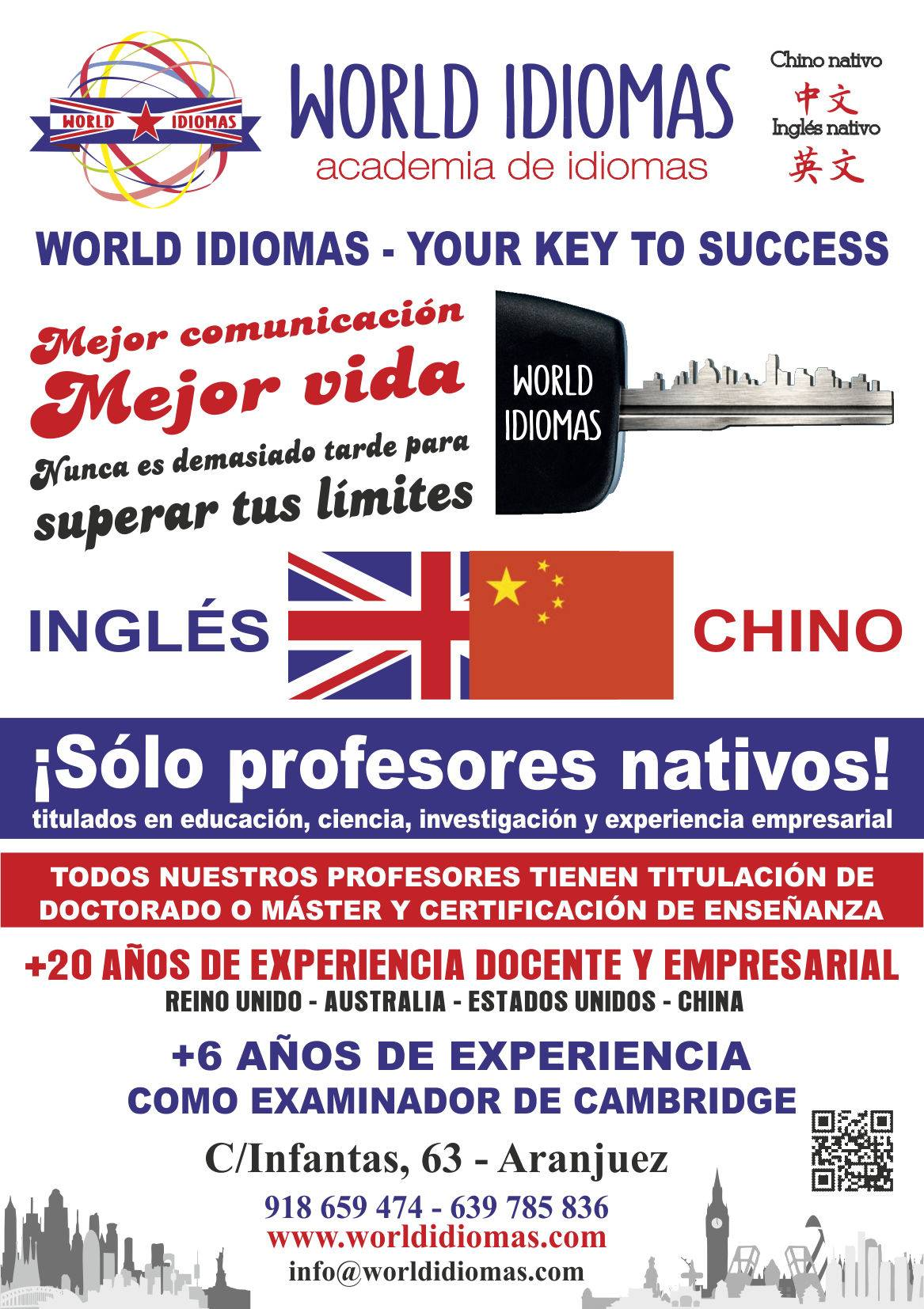 Ingles Aranjuez Madrid