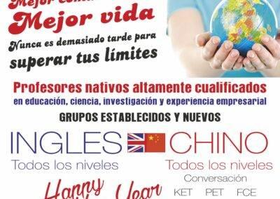 clases chino Aranjuez