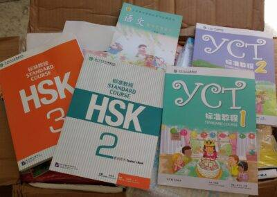 World Idiomas Aranjuez Chinese text books