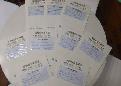 Chinese exams passed World Idiomas Aranjuez