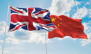 union jack and a chinese flag Aranjuez